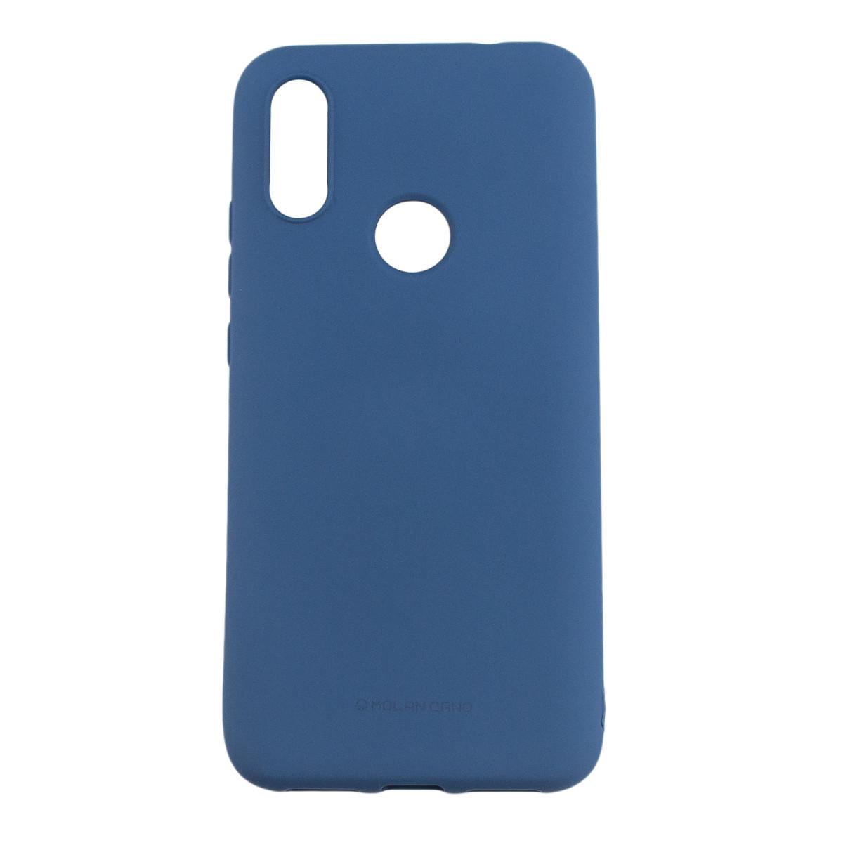 Оригинальный силиконовый чехол Molan Cano Jelly Case для Xiaomi Redmi 7 (синий)