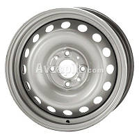 Стальные диски Кременчуг ВАЗ 2108 R13 W5 PCD4x98 ET40 DIA58.6 (серый)