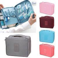 Удобный портативный органайзер для косметики | дорожная сумка для путешествий | косметичка