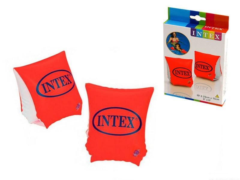 Нарукавники надувные Делюкс Intex 23х15см 3-6 лет (58642)