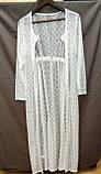 Солнцезащитная одежда длинный кружевной халат пляжная мода , фото 9