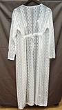 Солнцезащитная одежда длинный кружевной халат пляжная мода , фото 10
