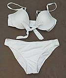 Модный купальник халтер завязки спереди, фото 8