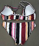 Модный купальник халтер завязки спереди, фото 9