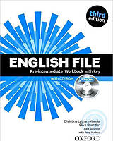 English File Third Edition Pre-Intermediate Workbook with key and iChecker