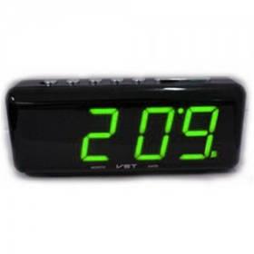 Сетевые часы VST 762 C2 (с датчиком температуры)