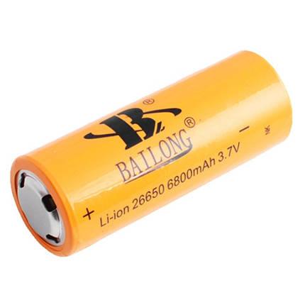 Аккумулятор BAILONG 26650-6800mAh, фото 2