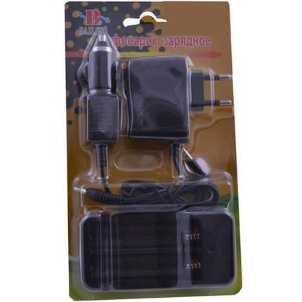 Зарядное устройство BAILONG 403, 2*18650 от 220V или 12V, блистер , фото 2