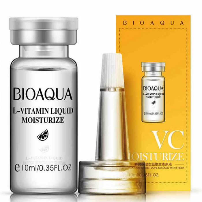 Гиалуроновая кислота с витамином С, Bioaqua VC Moisturize, 10 мл