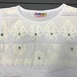 Детская одежда оптом Блуза для девочек нарядная оптом р.5-7 лет, фото 2