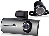 Автомобильный видеорегистратор X3000AV на 2 камеры | авторегистратор | регистратор авто
