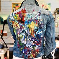Рисунки на джинсовых куртках