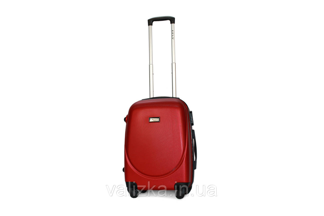Малый пластиковый чемодан Fly 310 S+ для ручной клади красный