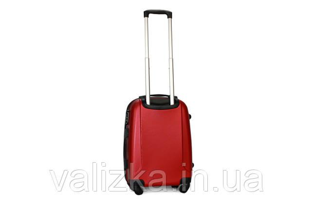 Малый пластиковый чемодан Fly 310 S+ для ручной клади красный, фото 2