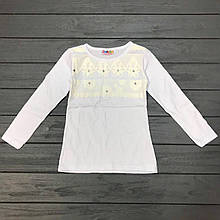 Детская одежда оптом Блуза для девочек нарядная оптом р.5-7 лет