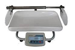 Весы медицинские для новорожденных «ТВЕ1-20-10-(300×550)-13ра-М» с ростомером