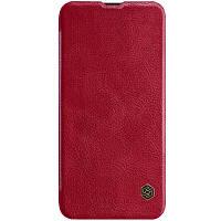 Кожаный чехол (книжка) Nillkin Qin Series для Huawei Honor View 20 / V20 Красный