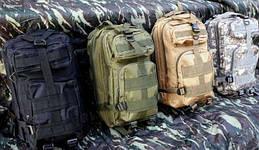 Рюкзак тактичний (штурмовий) 25 л. Рюкзак військовий. Тактический рюкзак