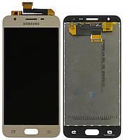 Дисплей (экран) Samsung G570Galaxy J5 PrimePLS TFT (с регулируемой подсветкой)с тачскрином, золотистый
