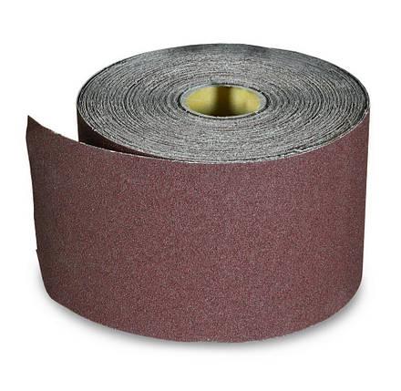 Папір наждачний водостійка Spitce тканинна основа Р40 200 мм (18-600), фото 2