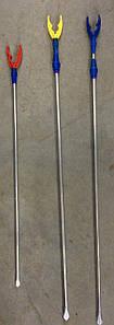 Подставка для удочки телескоп алюминий 0.85м