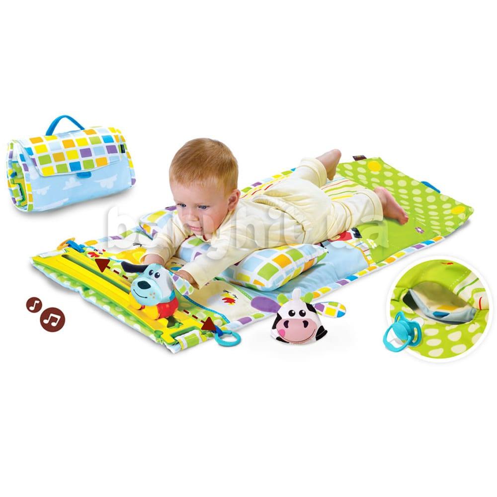 Развивающий коврик-сумка Малыш Yookidoo