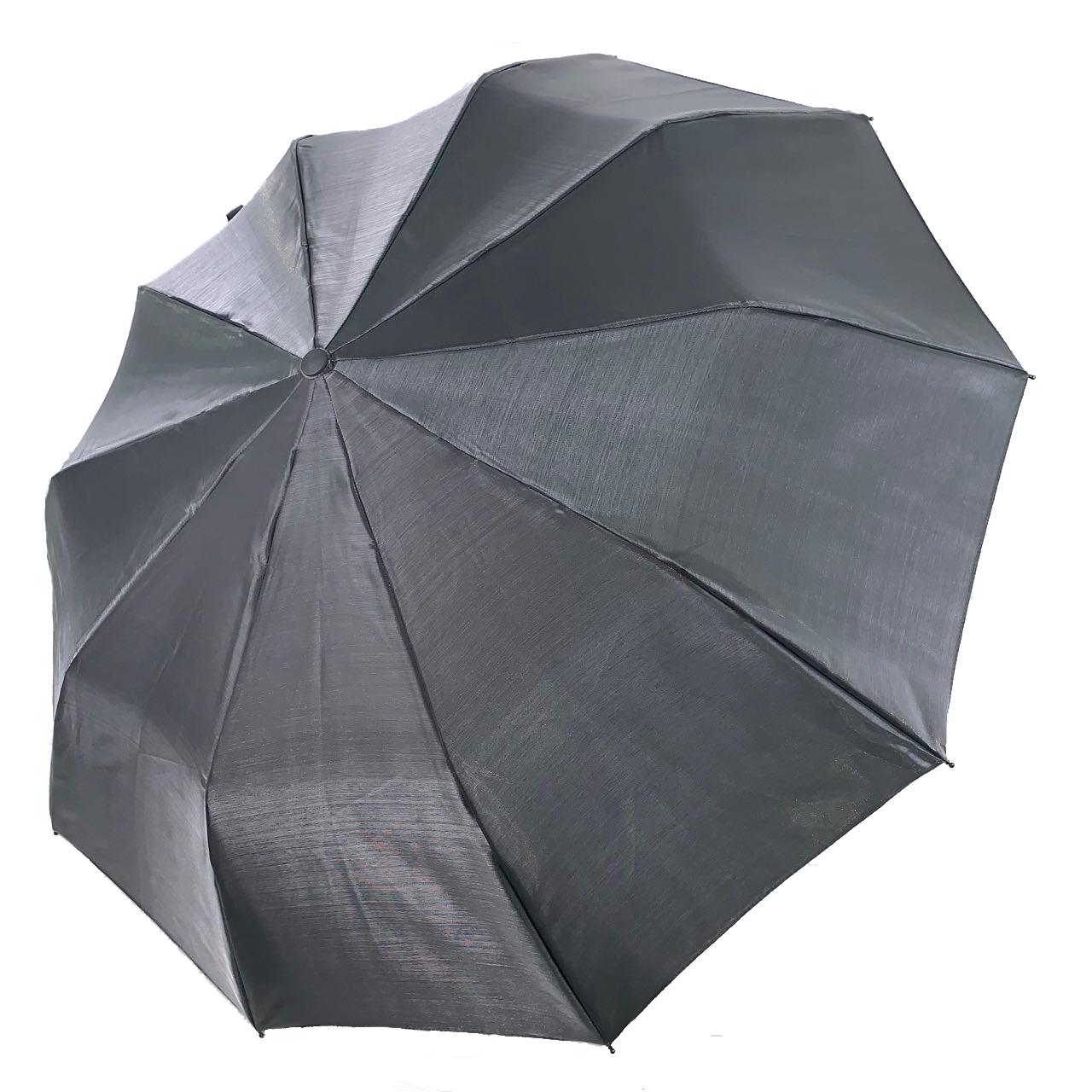 Женский зонт-полуавтомат Bellissimo хамелеон, серый,  SL1094-8