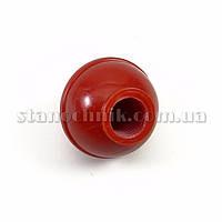 Ручка-шар 30 мм М12 пластик глянц (красная)