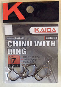 Крючки Kaida chinu with ring 2012001