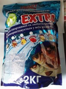 Прикормка Frenzy fisher EXTRA ЧЕСНОК 2,0 кг