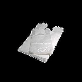 Пакет-майка 22 * 38 см білий 200 шт в упаковці