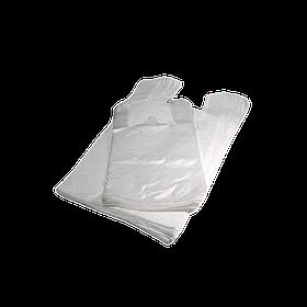 Пакет-майка 30 * 50 см білий 100 шт в упаковці