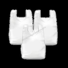 Пакет-майка 40 * 60 см 100 шт в упаковці