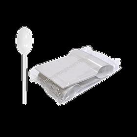 Ложка одноразова їдальня пластикова 100 шт / уп