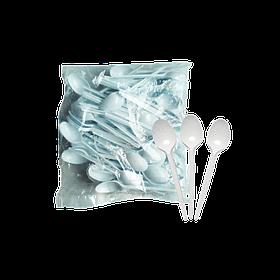 Ложка одноразова чайна пластикова 100 шт/уп