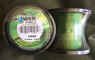 Шнур рыболовный Power Pro от 0,14 до 0,4 1000 м плетеный