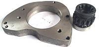 Плита в комплекте с шестерней для переоборудования пускача под стартер