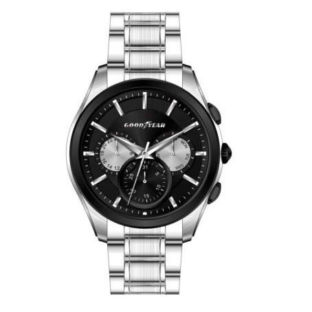 Часы мужские Goodyear G.S01218.01.02 серебряные