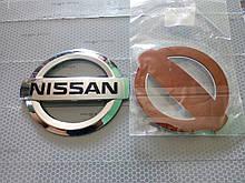 Эмблема NISSAN  105х90 мм