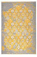 Ковер My Home Moretti Side двусторонний желтый и серый , фото 1