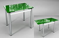 """Стол раскладной """"Ритм"""" зеленый"""