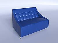 """Офисный диван """"Полис"""" синий"""