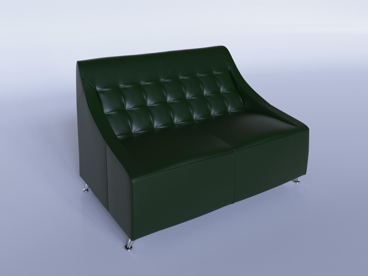 """Офисный диван """"Полис"""" зеленый"""