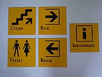 Изготолвение информационных табличек пиктограмм, фото 1