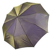 Жіночий парасольку-напівавтомат Bellissimo хамелеон, оливковий, SL1094-12, фото 1