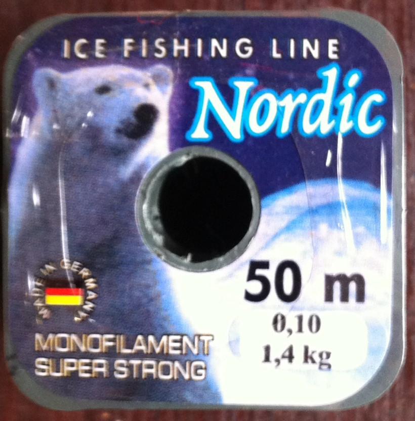 Леска зимняя Nordic Германия 0,10