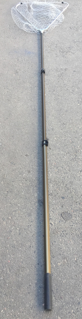 Подсак треугольный 60*300см,  с телескопической ручкой