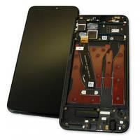 Дисплей Huawei Honor 8X  с тачскрином и рамкой черный Оригинал