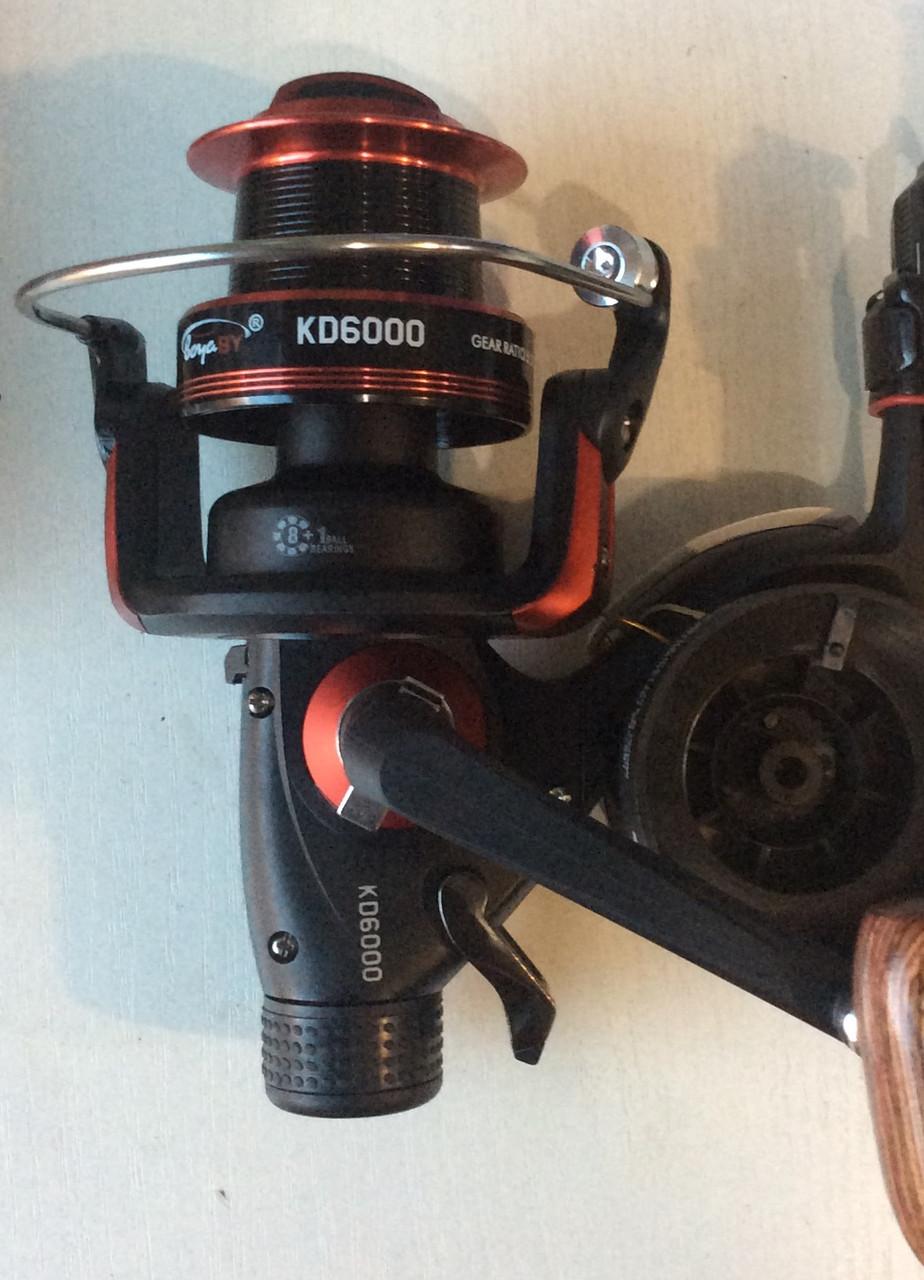 Катушка  с байтраннером BoyaBy KD6000