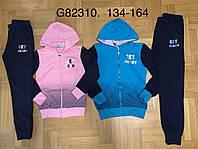 Трикотажный костюм 2 в 1 для девочек оптом, Graсe, 134-164 см,  № G82310, фото 1